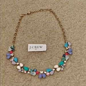 J. Crew jeweled choker necklace NWOT